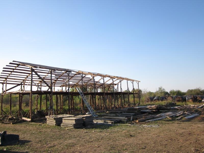 Строительство фермы своими руками фото